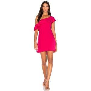NWT ASTR Marisol One Shoulder Mini Dress
